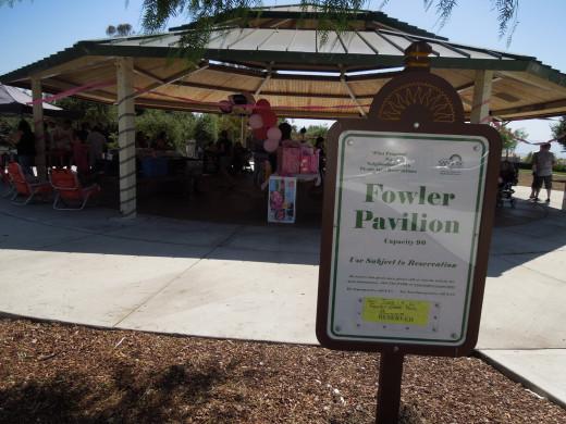 Pavilion for BBQ
