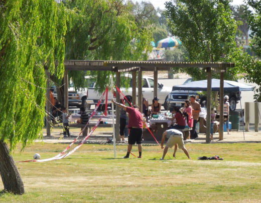 People Preparing for A Birthday Party at Lake Cunningham Park