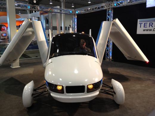 The Terrafugia flying car
