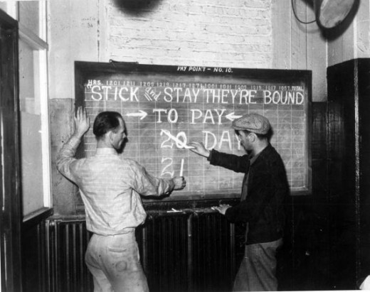UAW Flint Sit-down Strike 1937