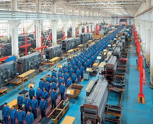 Chinese manufacturing plant.