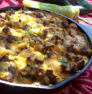 Mountain Man Skillet Breakfast