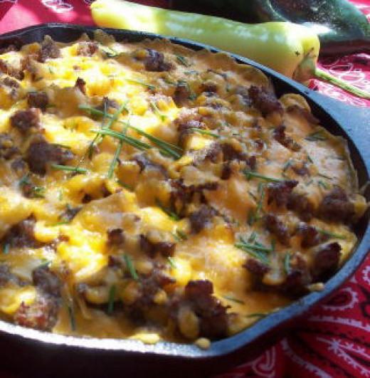 Mountain Man Skillet Breakfast