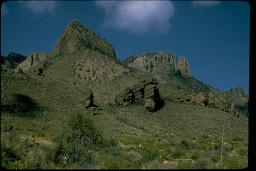 Big Bend National Park with low, erratic precipitation and low humidity.  Photo taken from http://www.nps.gov/pub_aff/imagebase.html