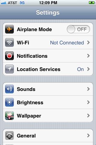 "Tap ""Notifications."""