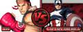 Ryu vs Captain America