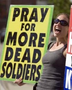 WBC protester.