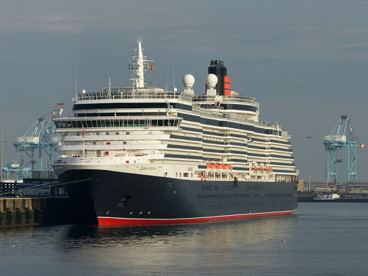 The Queen Victoria, made by Cunard Lines!