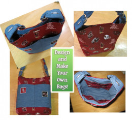 Check out my hubs on how to make denim skirt handbags if you have time to do some sewing.