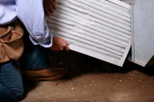 Clean filters increase airflow