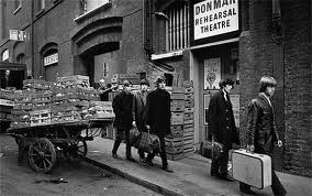Sixties snapper Terry O'Neill took this image of the Stones in Soho on the way to a gig at the 'Marquee'