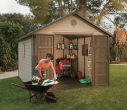 Why a Man Made Outdoor Shed is Better Than a Wood or Metal Shed