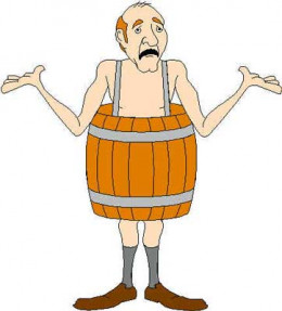 Even today, this archetypal symbol is used to depict sudden investor poverty, bankruptcy and other financial malaise. Though most people have never worn a barrel, many can identify with the image.
