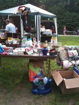 Croy Creek Flea Market in Reelsville, Indiana