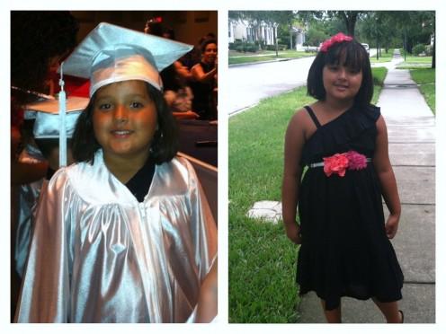 Faith's PreK Graduation