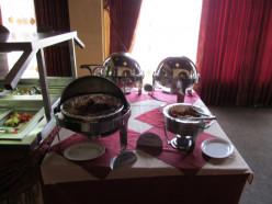 The buffett table