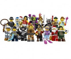 Lego Minifigures Series 8 - Release Date, Bump Codes, Characters