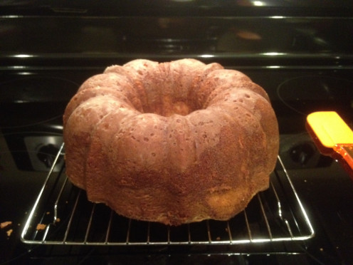 Delicious brown sugar pound cake!