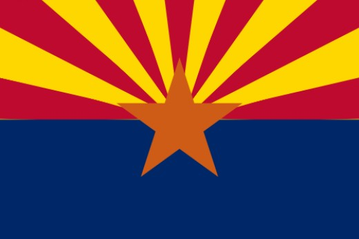 Arizona State Flag [3]