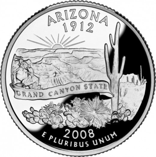 Arizona State Quarter [3]