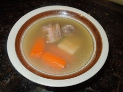 Arrowroot and Pork Leg Bone Soup Recipe