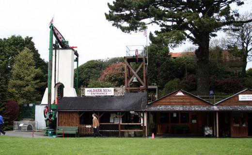 Poldark Tin Mine, Cornwall