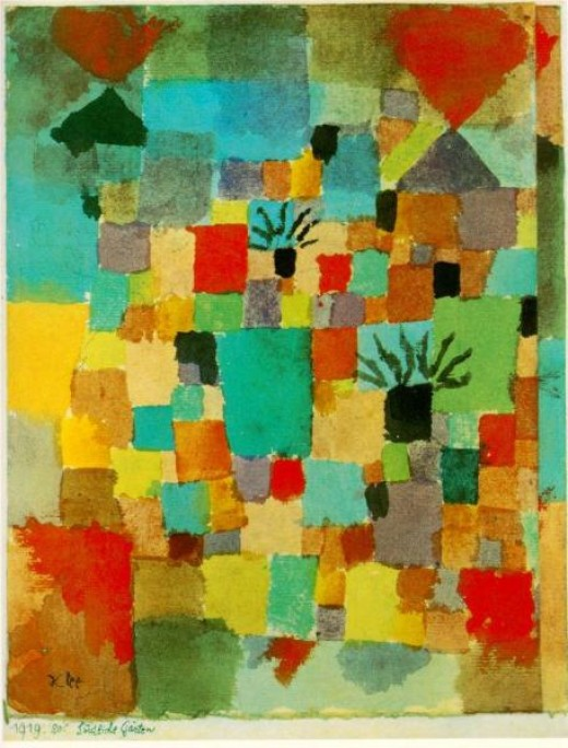 Paul Klee, Southern (Tunisian) Gardens, 1919