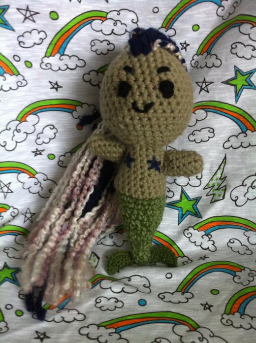 Crochet siren