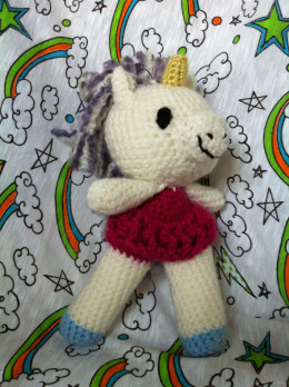 Crochet Ballerina Unicorn