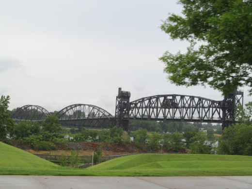 The Little Rock, North Little Rock bridge systems are being revitalized one at a time - beautiful