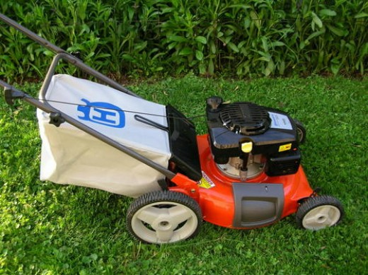 how to do an oil change on a push mower