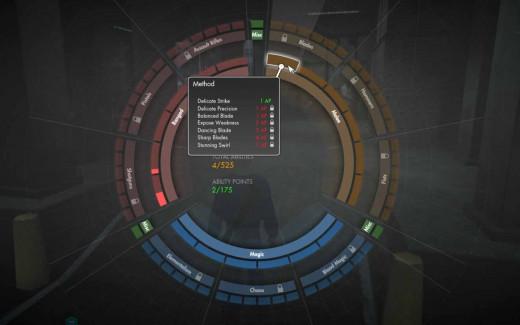 The Secret World Wheel of Abilities