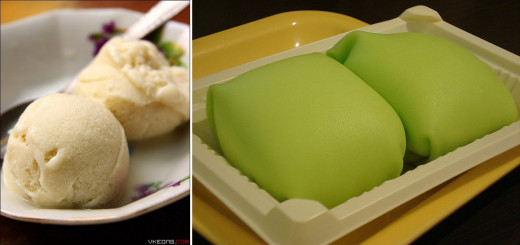 Durian Ice Cream and Durian Pancake