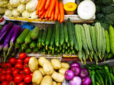 Fresh vegetables for weight loss