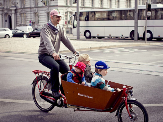 Have more than 2 young children?  A special carrying bike may be worth looking into.