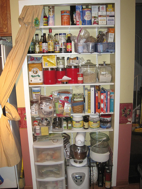 Stocking a pantry while living without a car isn't as difficult as it seems.