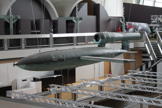 Fau rocket in Brussel military  museum