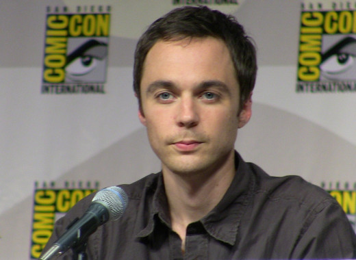 Jim Parsons of The Big Bang Theory at the San Diego Comic Con