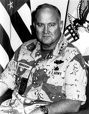 "A Quote from Gen. H. Norman Schwarzkopf » ""The truth of the matter is that you always know the right thing to do. The hard part is doing it."""