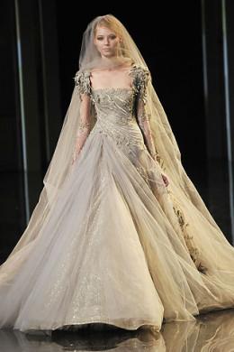 Designer John Galliano of Dior Wedding