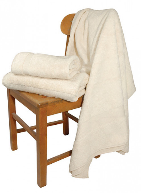 Organic cotton towels.