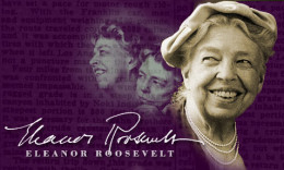 Anna Eleanor Roosevelt (1884-1962) - First Lady of USA from 1933-1945