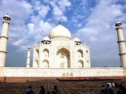 Taj Mahal -- Agra, India