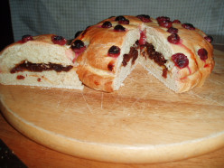 How to Make Wine Harvest Celebration Bread, A hand made truely Artisan loaf. Schiacciata Con Uva