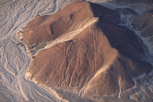 Is This our Man? Nazca Astronaut...