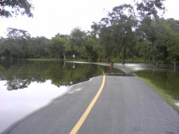 ...and weather conditions, like the flooding seen here.