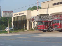 Stock photos of specific locations, like this fire station. can used for any number of stories and articles.