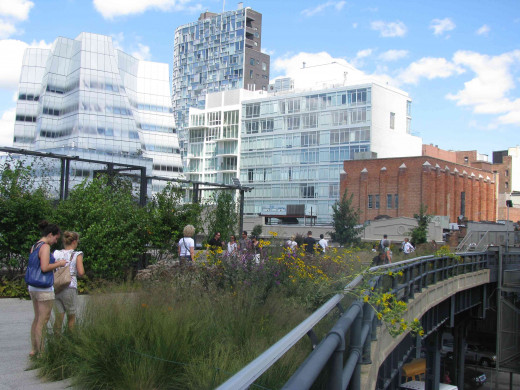 New York City's High Line Park Is An Example Of How New York City Constantly Reinvents Itself