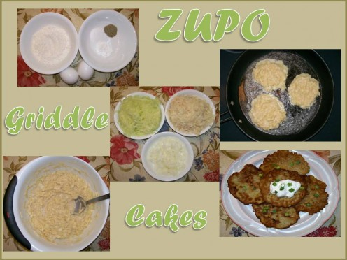 ZUPO Griddle Cakes!  Created by Sharyn's Slant