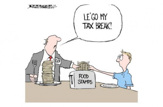 Tax Breaks or Food?